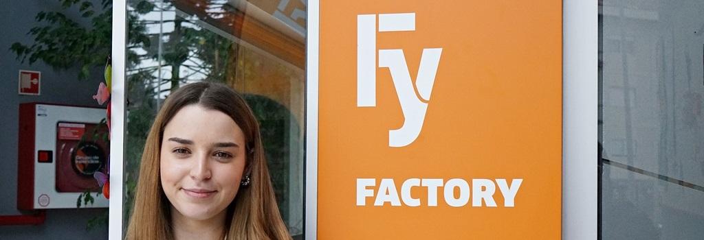 Conhece a Inês, a nova ponta de lança da equipa do Factory!