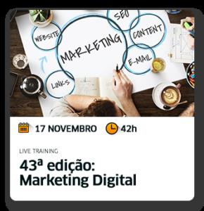 Curso Marketing Digital 43ª edição