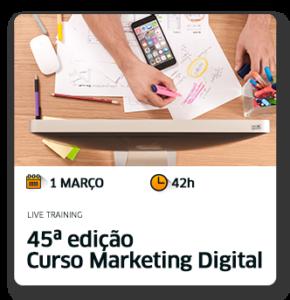 Curso Marketing digital edição 46º